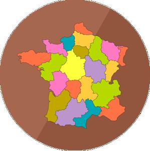 Geografi Fran Rund Glob Till Platt Karta
